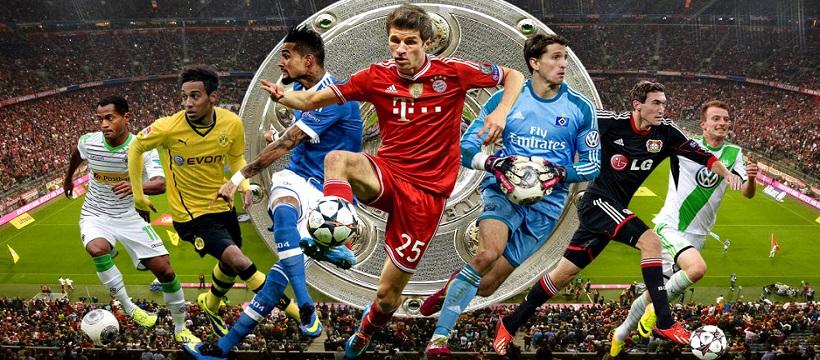 Бундеслига чемпионат футбол