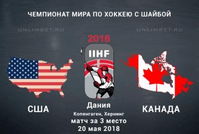 Хоккей ЧМ 2018 США — Канада 20 05 2018 смотреть онлайн